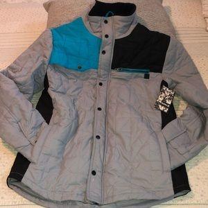 NWT Hurley gray jacket